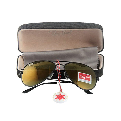 a734b09e91d Ray Ban Aviator Brown-Gold Mirror Sunglasses Ray Ban Aviator Brown-Gold  Mirror Sunglasses