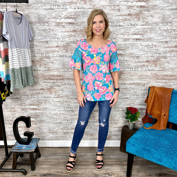 Simply Southern Floral Top