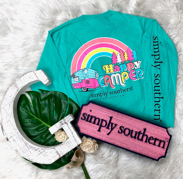 Happy Camper Simply Southern Longsleeve