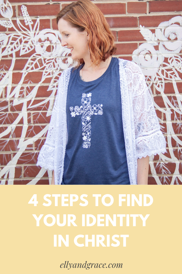 I AM WHO YOU SAY I AM: 4 Steps to Finding Your Identity in Christ