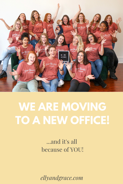 Ellyandgrace is MOVING!