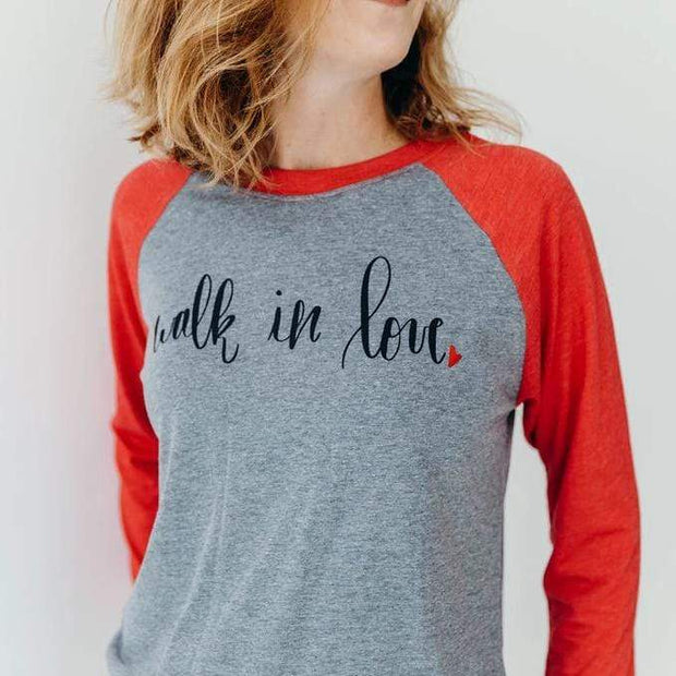Walk in Love Raglan