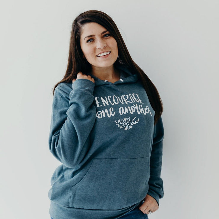 Encourage One Another Premium Hoodie