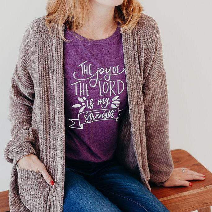 The Joy of the Lord is my Strength Triblend Short Sleeve Shirt