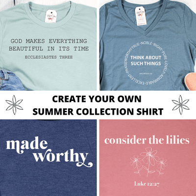 Create Your Own Summer Collection Shirt