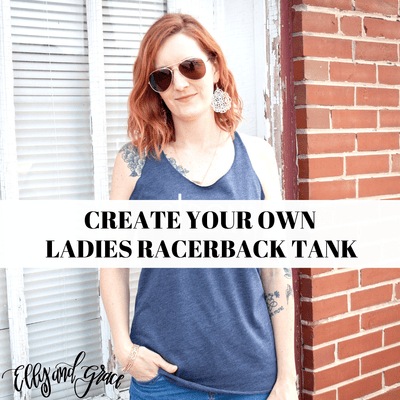 Create Your Own Ladies Racerback Tank