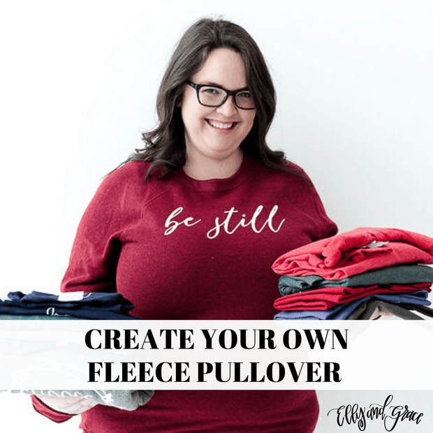 Create Your Own Premium Fleece Pullover