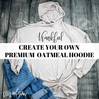 Create Your Own Premium Oatmeal Hoodie