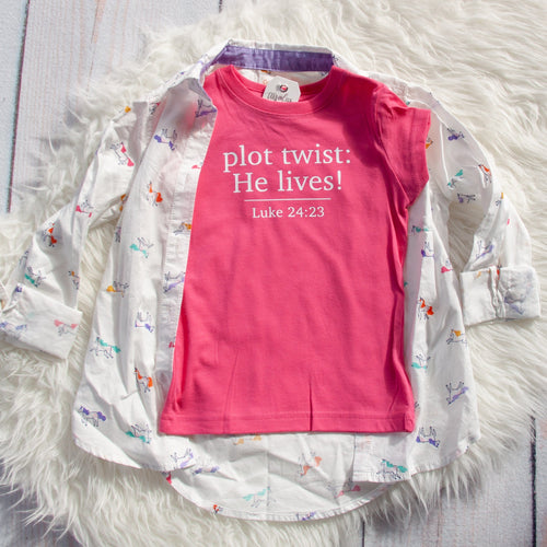 Plot Twist: He Lives! Toddler Shirt