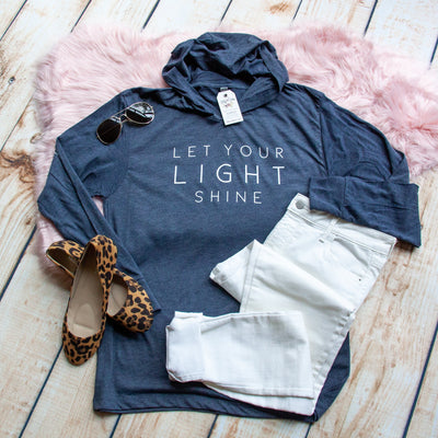 Let Your Light Shine T-Shirt Hoodie