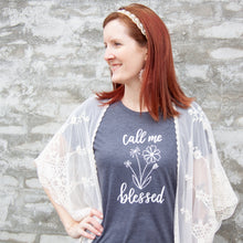 Call Me Blessed Triblend Short Sleeve Shirt