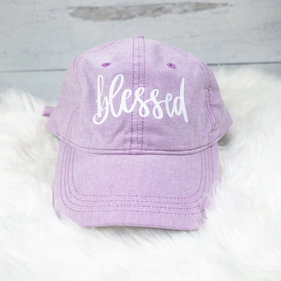 Blessed Modern Summer Pastel Cap