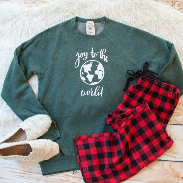 Joy to the World Premium Fleece Pullover