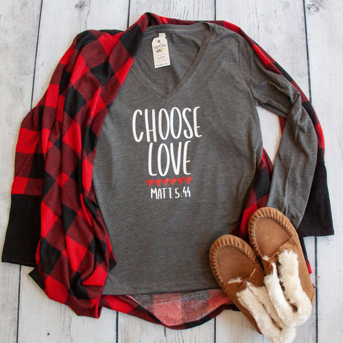 Choose Love Longsleeve V-Neck