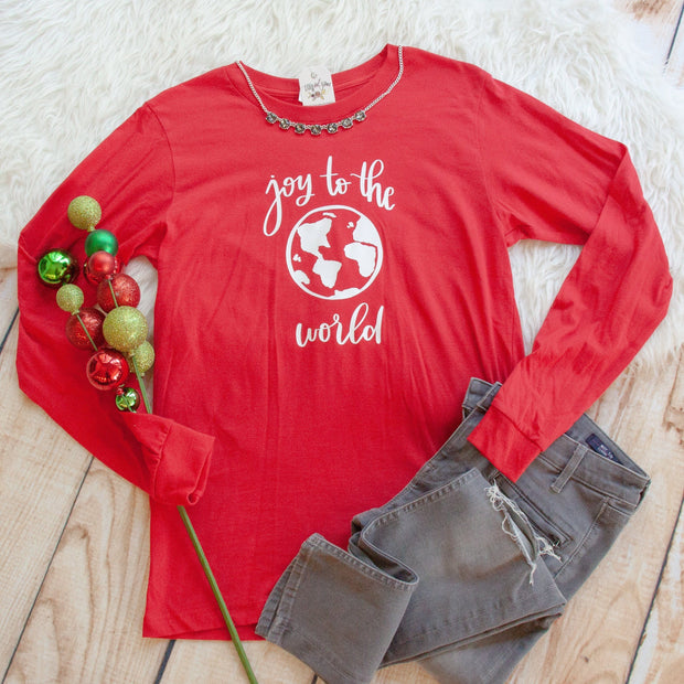 Joy to the World Crew Longsleeve