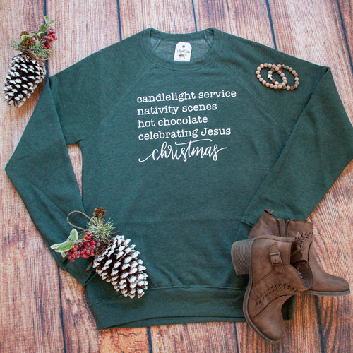 Christmas Things Premium Fleece Pullover