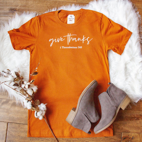 Give Thanks Unisex Shirt
