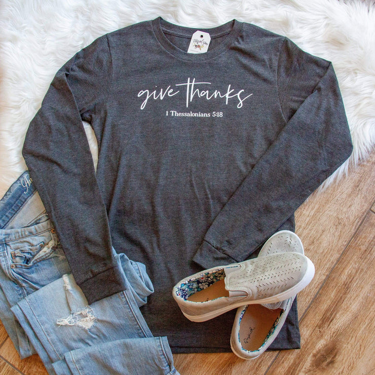Give Thanks Crew Longsleeve