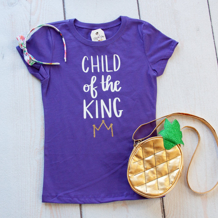 Child of the King Girls Shirt
