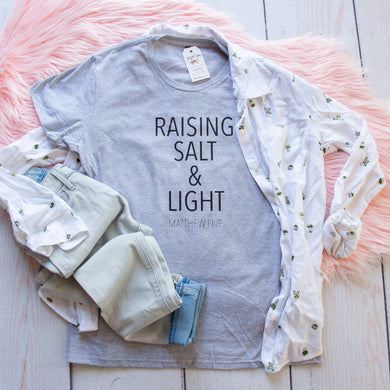 Raising Salt and Light Short Sleeve Shirt