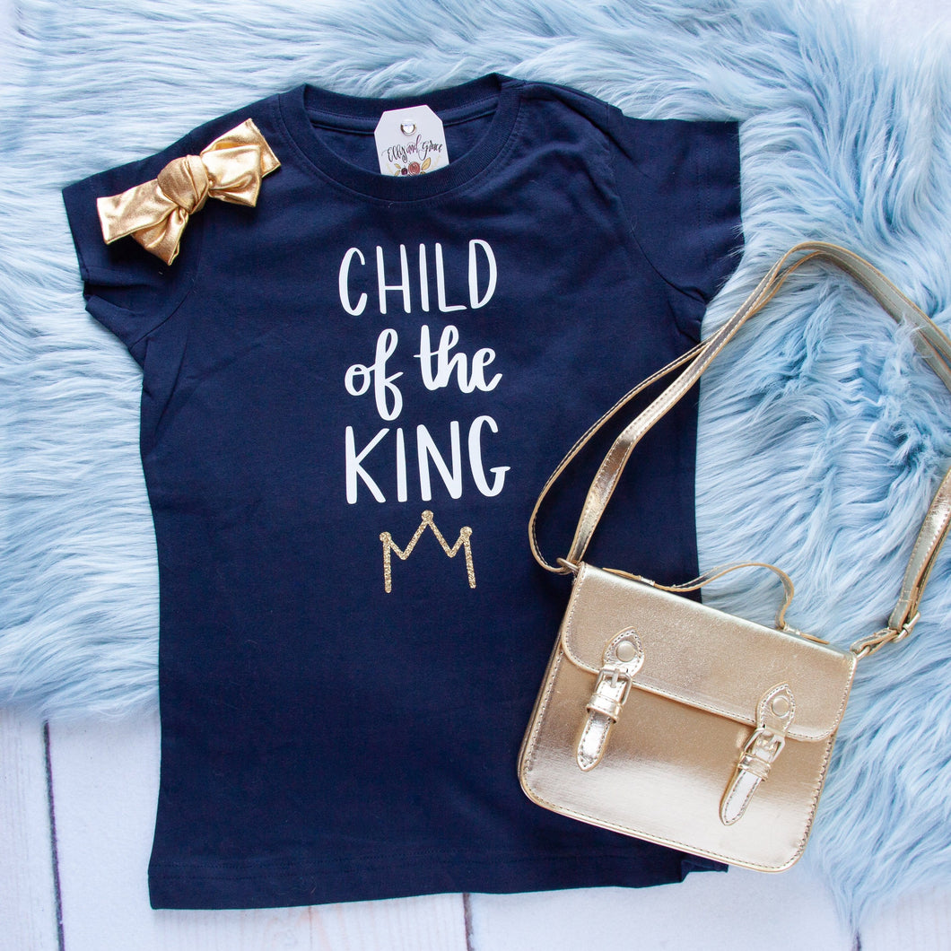 Child of the King Girls Toddler Shirt