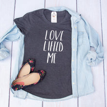 Love Lifted Me Triblend Short Sleeve Shirt