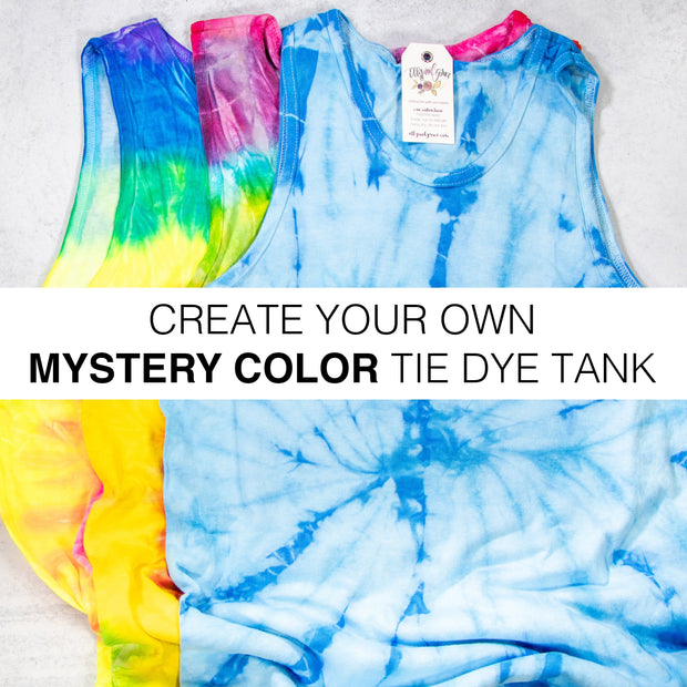 Create Your Own Mystery Tie Dye Tank