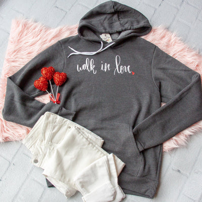 Walk In Love Premium Fleece Hoodie