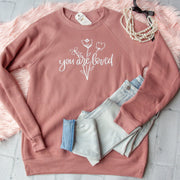 You are Loved Premium Fleece Pullover