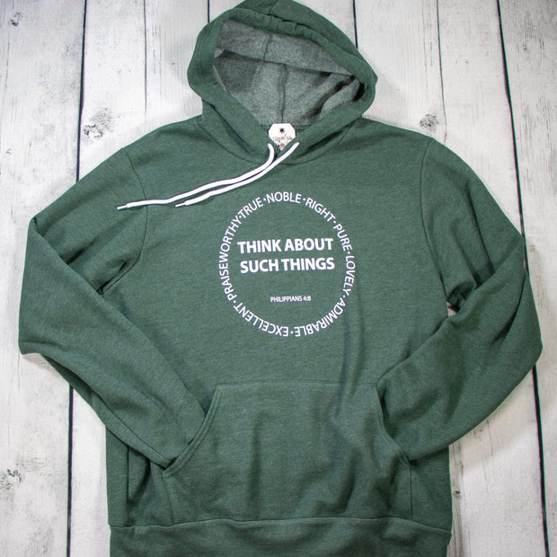 Think About Such Things Premium Fleece Hoodie