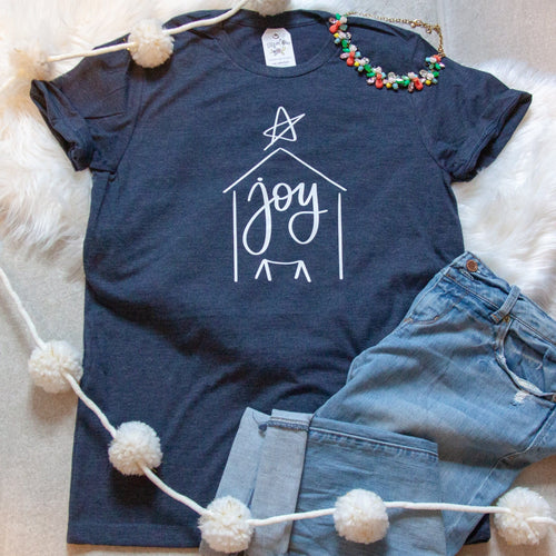 **LIMITED EDITION**  Joy Nativity Unisex Shirt