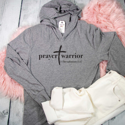 Prayer Warrior T-Shirt Hoodie