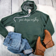 Grace Changes Everything Premium Fleece Hoodie