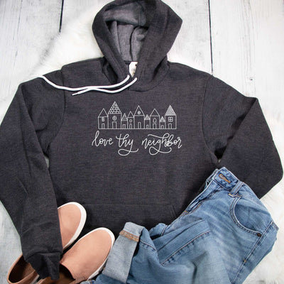 Love Thy Neighbor Premium Fleece Hoodie