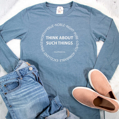 Think About Such Things Crew Longsleeve