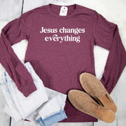 Jesus Changes Everything Crew Longsleeve