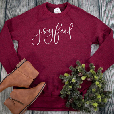 Joyful Premium Fleece Pullover