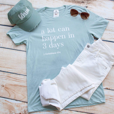 A Lot Can Happen in 3 Days Unisex Shirt
