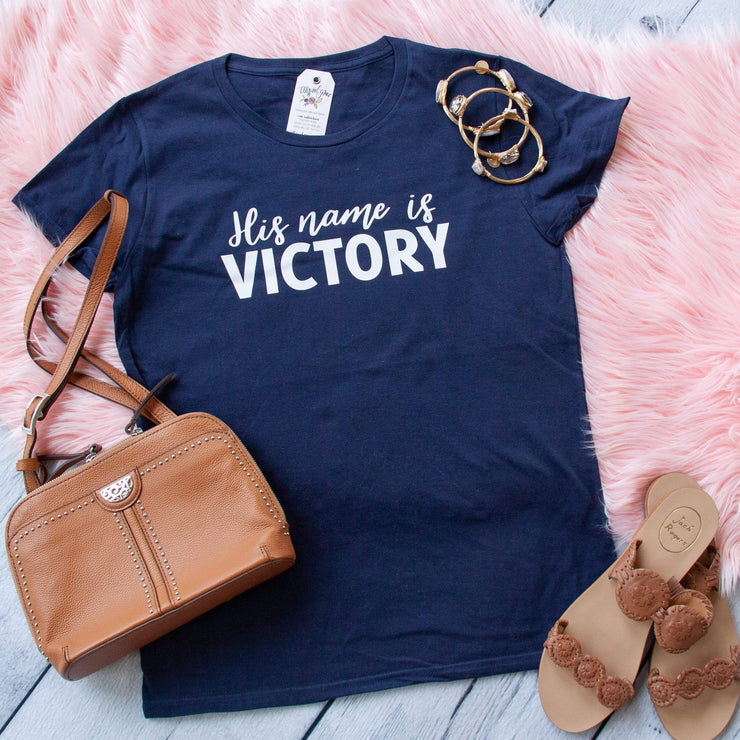 His Name is Victory Classic Short Sleeve Shirt