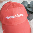 Choose Love Distressed Hat