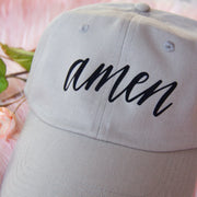 Amen Distressed Hat