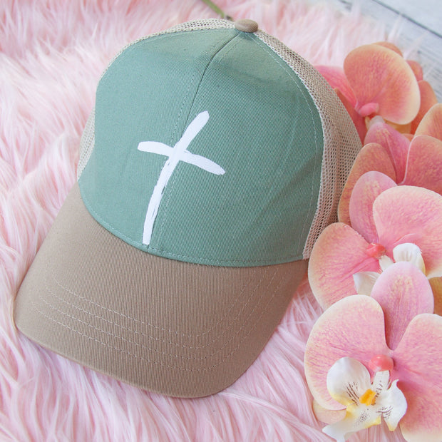 Cross Trucker Hat