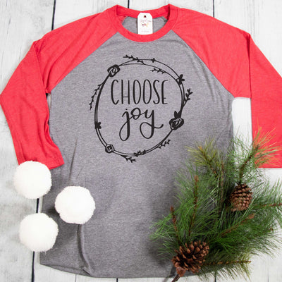 Choose Joy Raglan