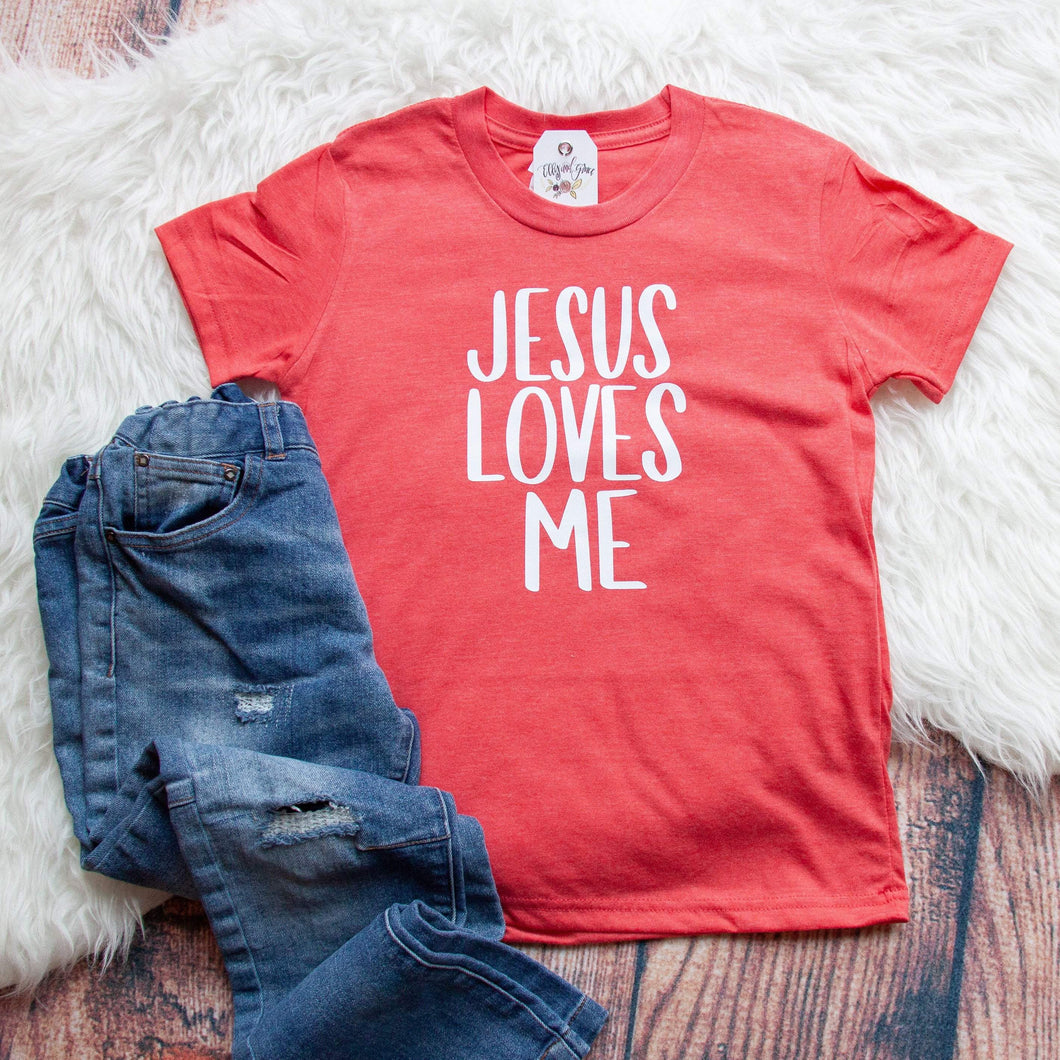 Jesus Loves Me Unisex Youth Shirt
