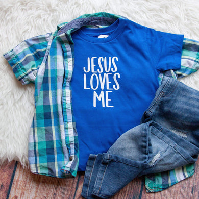 Jesus Loves Me Unisex Toddler Shirt