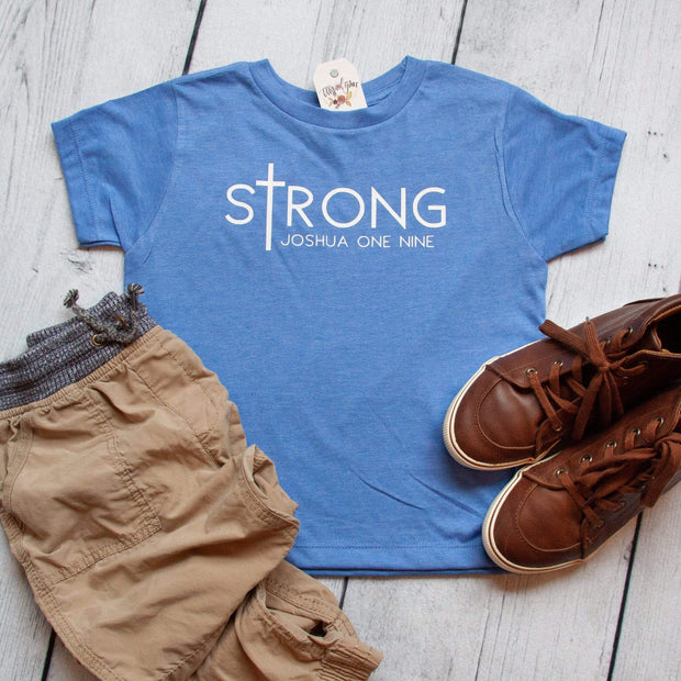 sTrong Unisex Toddler Shirt