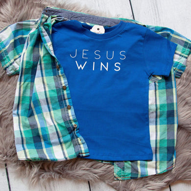 Jesus Wins Unisex Toddler Shirt