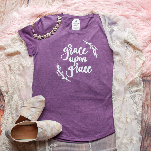 Grace upon Grace Triblend Short Sleeve Shirt