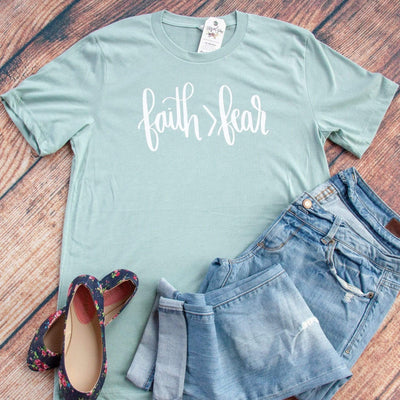 Faith > Fear Unisex Shirt