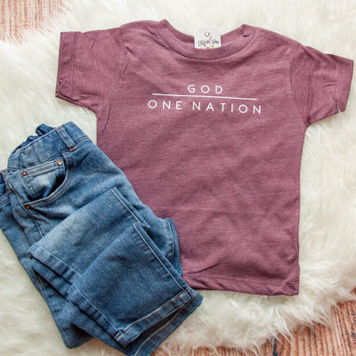 One Nation Under God Unisex Toddler Shirt